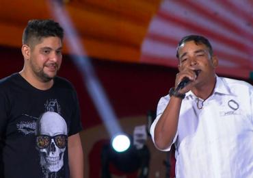 Montador do palco do Villa Mix Goiânia realiza sonho de cantar com Jorge e Mateus