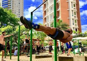 Calistenia: conheça a prática de exercícios físicos que está fazendo sucesso em Goiânia