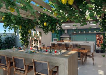 Goiânia ganha primeiro condomínio vertical com painel solar, horta e pomar