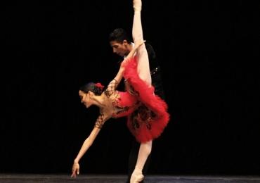 Bailarina goiana é vencedora do maior concurso de ballet da TV russa⠀