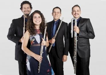 Grupo musical de Brasília promove circuito de concertos para estudantes da rede pública