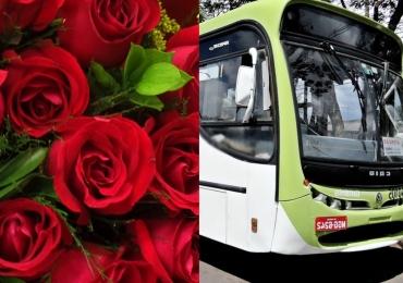 Motorista de Goiânia decora ônibus e comove mulheres