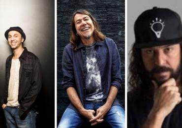 Zeca Baleiro, Lenine e Gabriel o Pensador fazem show em festival de Brasília