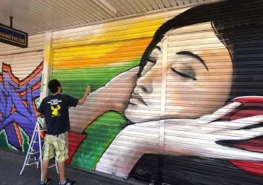 Projeto Galeria Noturna transforma Centro Histórico de Goiânia em galeria de arte à céu aberto