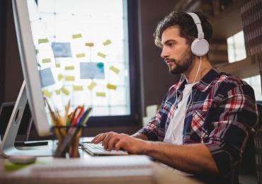 Sons da natureza podem aumentar a produtividade no trabalho