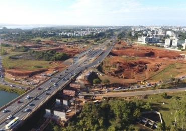 DER-DF bloqueia Ponte do Bragueto a partir desta quarta-feira