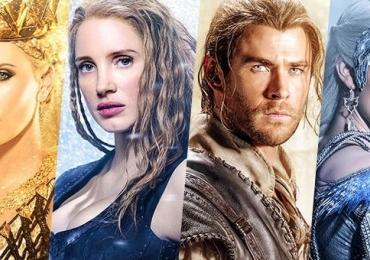 """""""O Caçador e a Rainha do Gelo"""" está entre os lançamentos da semana no Cine Lumière"""