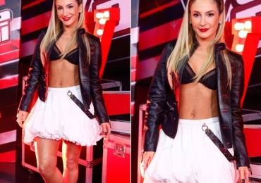 Na final do The Voice Brasil o look de Cláudia Leitte foi mais comentado que a música
