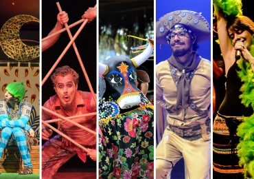 Confira a programação completa de outubro do Teatro Sesc   Agenda recheada com espetáculos para todos os gostos e idades!