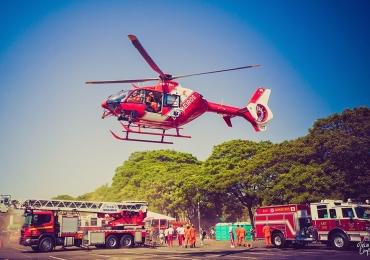 Dia de Bombeiro: evento em Brasília aproxima a criançada da rotina dos bombeiros