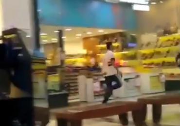 Ladrões armados assaltam joalheria em shopping de Aparecida de Goiânia