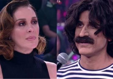 Climão entre Eriberto Leão e Raia marca 'Show dos Famosos' no Domingão do Faustão