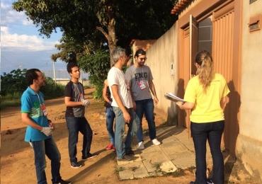 IFG auxilia moradores de bairro em Aparecida na construção de filtro sustentável para água de cisterna