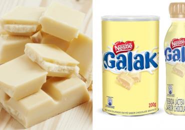 Galak vira achocolatado em pó tipo Nescau em edição limitada de inverno