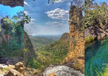 Descobrimos um novo e inexplorado paraíso de águas azuis em Goiás