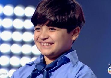 Thomas é o campeão do The Voice Kids