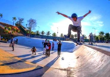 Parque Marcos Veiga Jardim reúne campeonato de skate, música e arte urbana em Goiânia