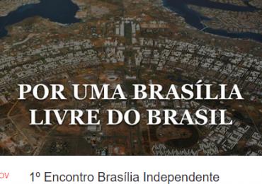 Grupo na internet defende a separação de Brasília do resto do Brasil