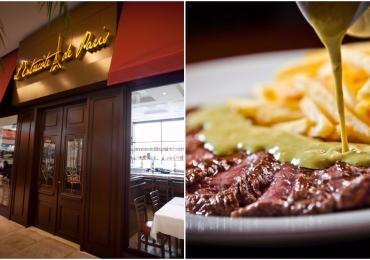 Famoso por servir um único prato, L'Entrecôte de Paris abre as portas em Uberlândia