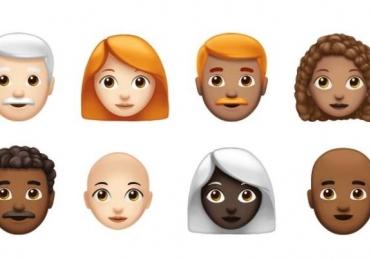 Cacheados, carecas, ruivos: Apple anuncia 70 novos emojis