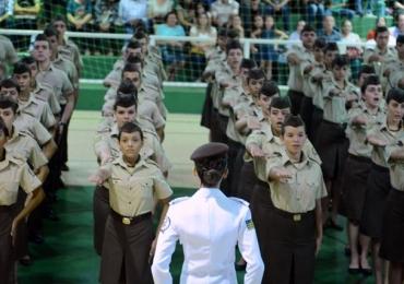 Colégios estaduais militares de Goiás abrem 8.075 vagas com inscrições abertas