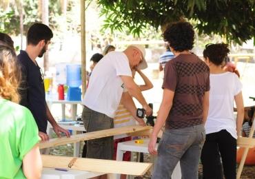 Moradores do Setor Pedro Ludovico recebem convite para construir móveis para o bairro