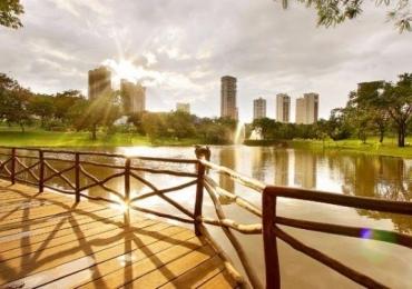 Qual foi a temperatura mais alta registrada em Goiânia?