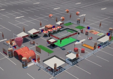 Com entrada gratuita, supermercado em Goiânia abre espaço para jogos e atividades divertidas