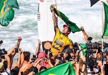 Gabriel Medina coloca o Brasil no topo do surfe mundial pela segunda vez