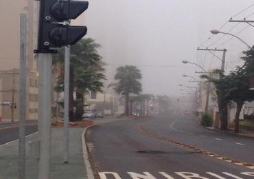 Massa de ar frio derruba temperatura no Brasil e Uberaba pode registrar mínima de 5ºC