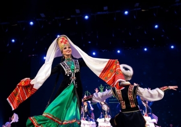 Ballet folclórico da Rússia se apresenta em Uberlândia