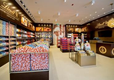 Brasília recebe nova loja dos chocolates suíços Lindt no ParkShopping