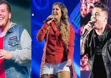 Marília Mendonça, Ferrugem e Felipe Araújo fazem show em Goiânia