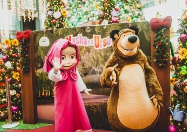 Personagens infantis desembarcam em shopping de Brasília para presentear as crianças