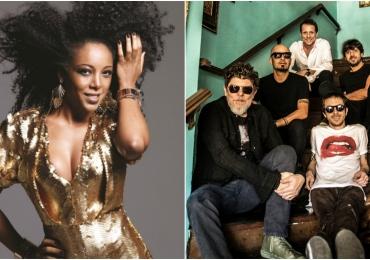Titãs e Negra Li fazem show de abertura do Flamboyant In Concert em Goiânia