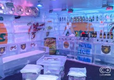Ice Bar: Curta Mais conferiu de perto, vem ver!