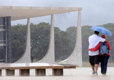 Meteorologia prevê chuva em Brasília neste fim de semana