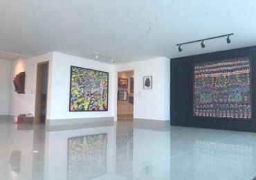 Mostra em apartamento de Goiânia exibe obras de artistas consagrados com entrada gratuita