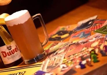 Carcassonne Pub mistura gastronomia e jogos de tabuleiro na 203 Norte em Brasília
