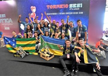 Estudantes de Goiânia vão à NASA competir no principal Campeonato de Robótica do Mundo
