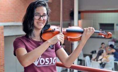 Violinista de Goiás é selecionada para participar de festivais internacionais de música