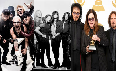Black Sabbath, Aerosmith e Scorpions devem passar por cidades brasileiras ainda este ano