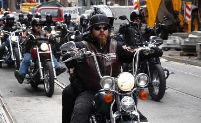 Evento para os aficionados por motocicleta ocupa shopping de Uberlândia