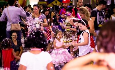 Shopping de Brasília promove bailinho de carnaval para a criançada