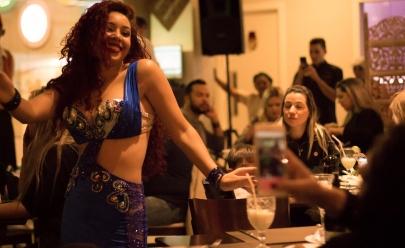 Noite árabe anima restaurante em Águas Claras