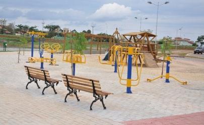 Onde encontrar academias ao ar livre em Goiânia