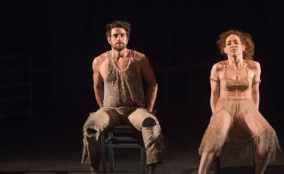 Pela primeira vez em Uberlândia, espetáculo Gota D'água [a seco] é encenado; Laila Garin e Alejandro Claveaux estão no elenco