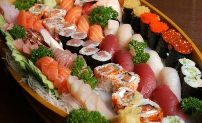 Jantar típico japonês tem comida e bebida à vontade em Goiânia