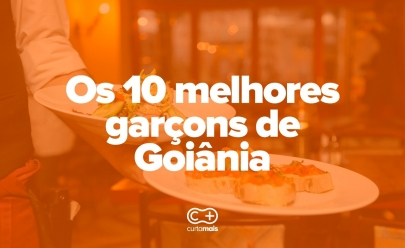 10 melhores garçons de Goiânia
