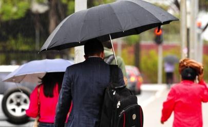Previsão do tempo: apesar do calor, chuvas estão previstas para o início da tarde durante fim de semana no DF